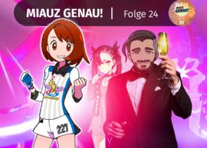 pokemon podcast, miauz genau!, deutsch, pokemontutorialtv, YouTube, Galar, Chairman, rose, Marie, endynalos, Schwert und Schild