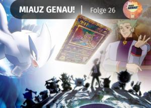 pokemon podcast, miauz genau!, deutsch, Pokemon Film 2, 2000 Pokemon Mew Karte, Lugia, Sammler, Nostalgie, Erinnerungen, Kino