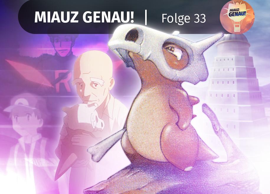 pokemon podcast, miauz genau!, deutsch, Pokemon Origins, Tragosso, Team Rocket, Rot, Blau, Lavandia, Lavendel Town
