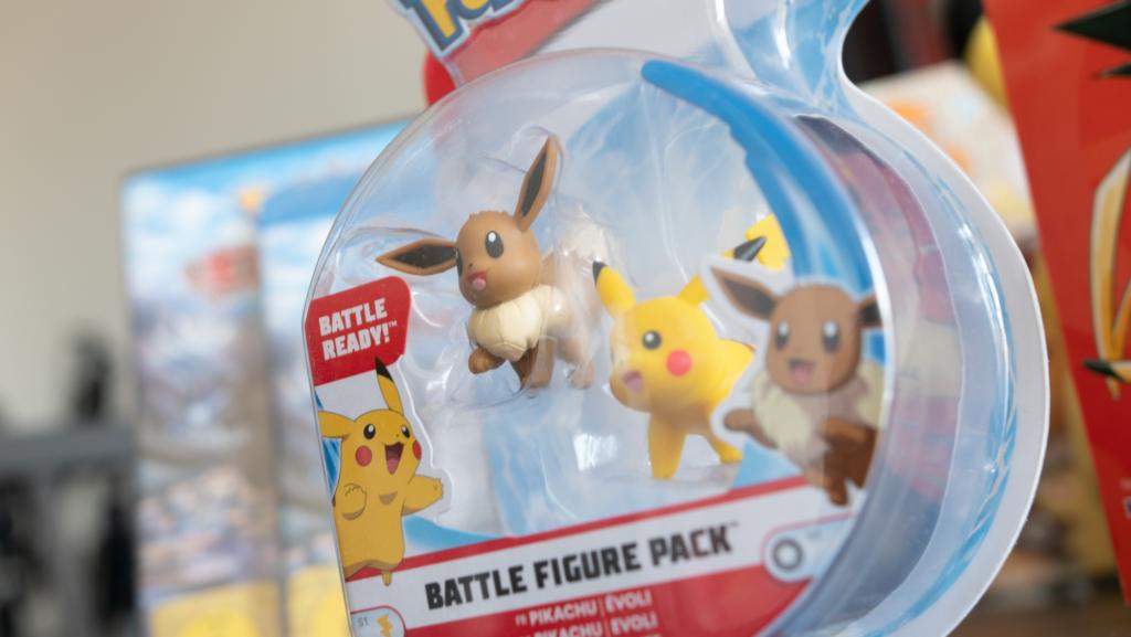 pokemon podcast, miauz genau!, deutsch, Evoli, Pikachu, Figuren, Figures