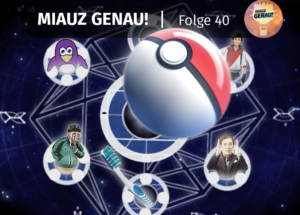pokemon podcast, miauz genau!, deutsch, knopey