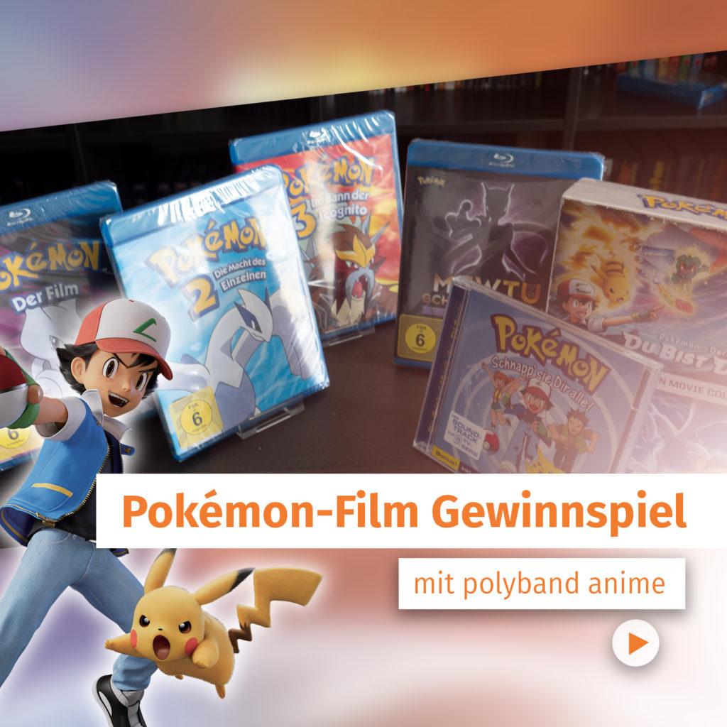 pokemon Gewinnspiel, polyband, dvd, ach, Pikachu, ach Ketchum