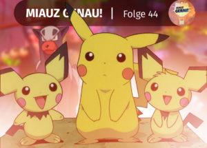 pokemon, podcast, miauz, genau, neu, episode, folge, special, Vorfilm, Pikachu und Pichi, Pichu Brüder, Pichu Brothers, Hunderter, Spielplatz