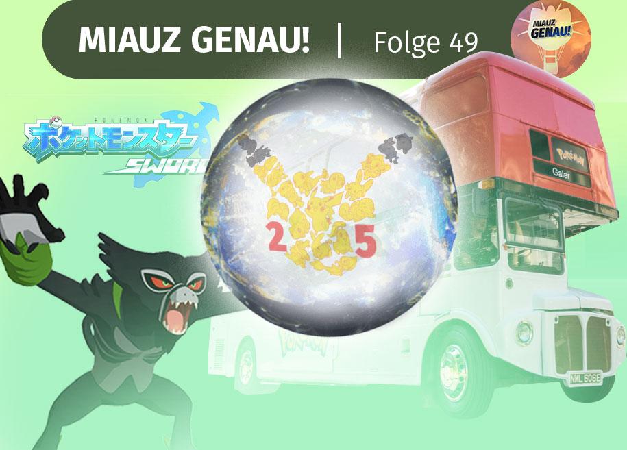 pokemon, podcast, German, deutsch, zarude, gamestop, pokemon home, pokemon go, verbindung, transport, pokemon bus, galar, Jubiläum, Jahrestag, Pokemon Jubiläum, 25, Pokemon Schwert Demo Leck