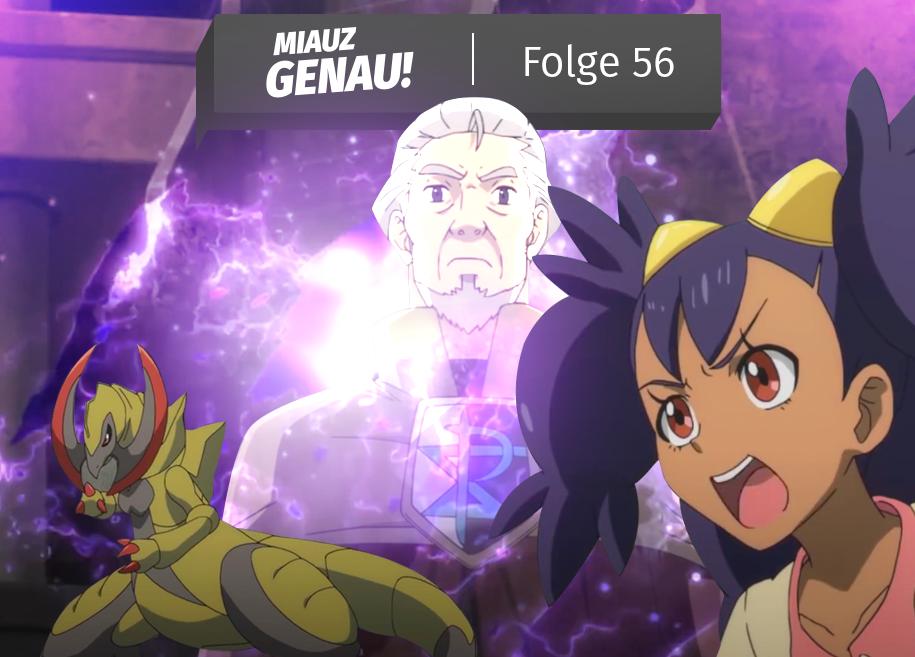 Miauz Genau der deutsche Pokemon Podcast Folge 56, Generationen Besprechung Folge 13 - Einall Region